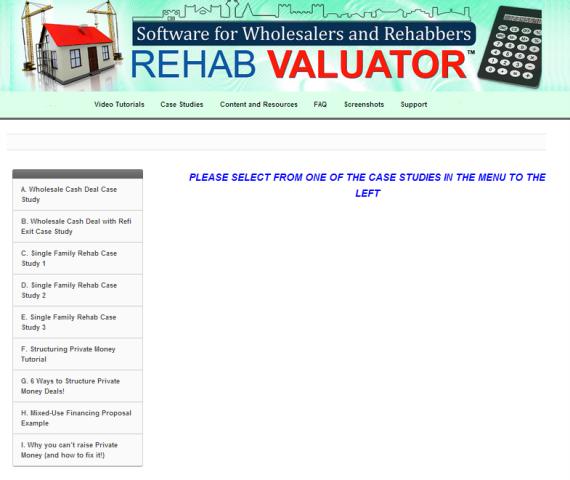 Rehab Valuator 3